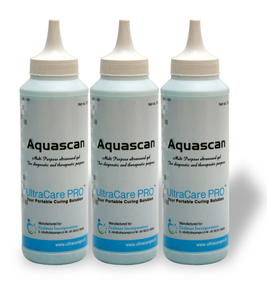 Aquascan Ultrasound Gel