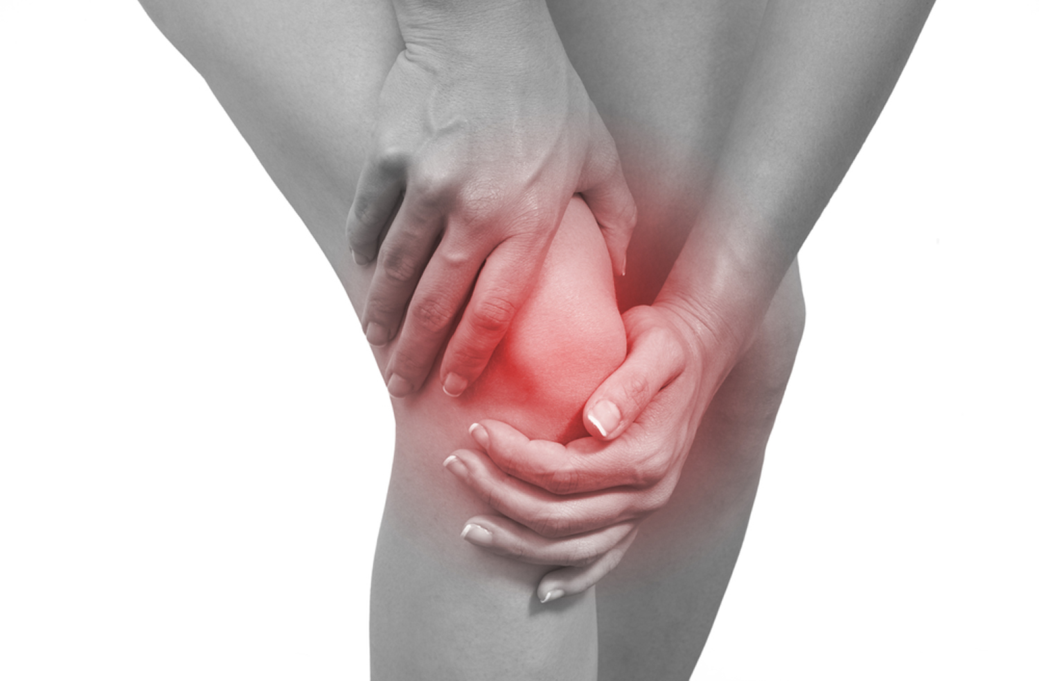 Localized pain, knee treatment