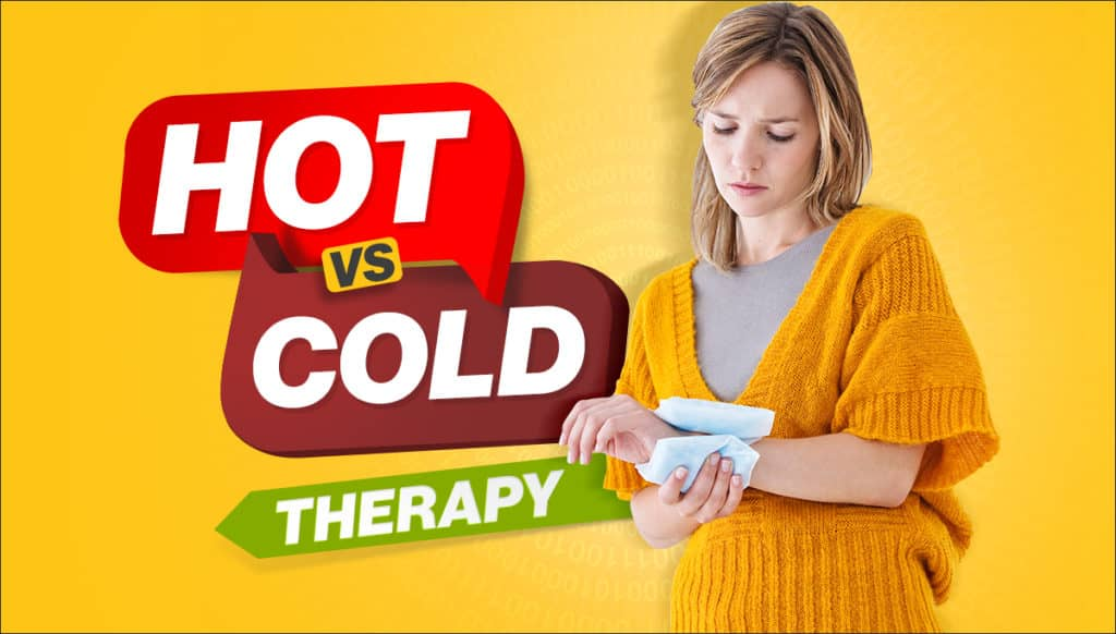 hot vs cold pack therapy, hot therapy, cold therapy