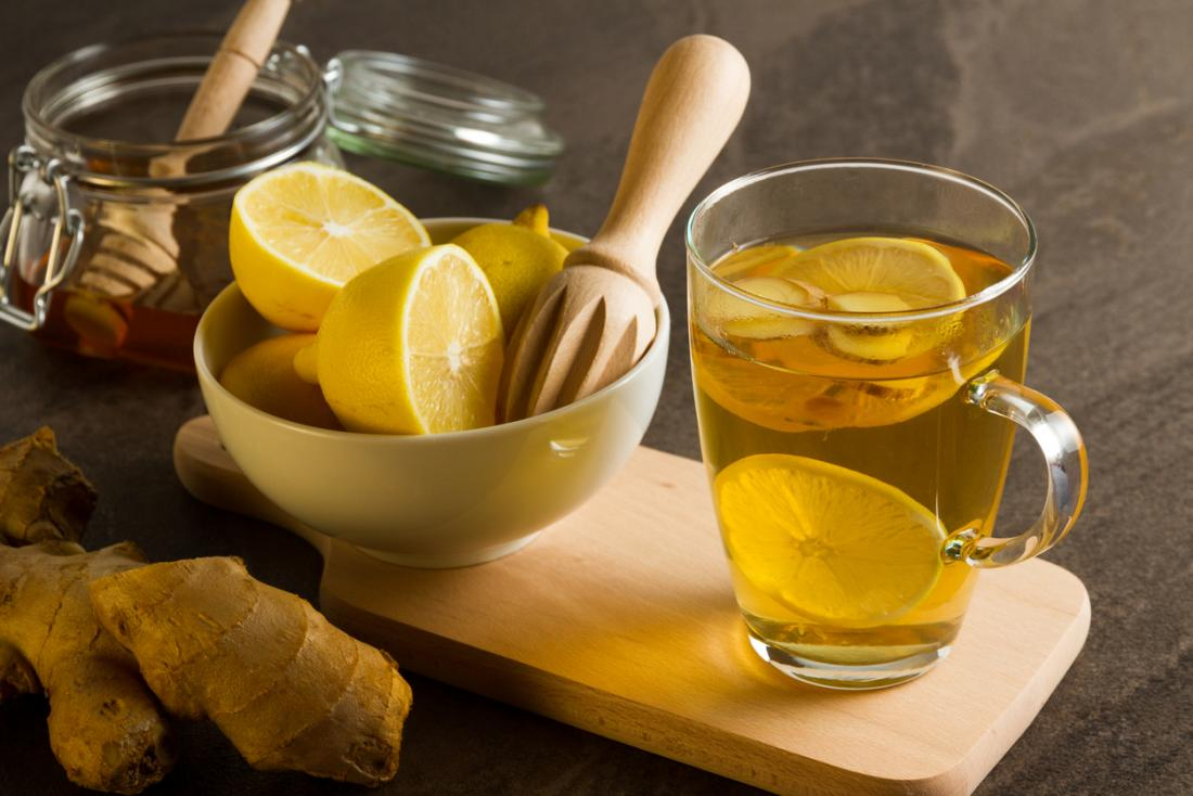 hot-lemon-drink-with-honey-and-ginger