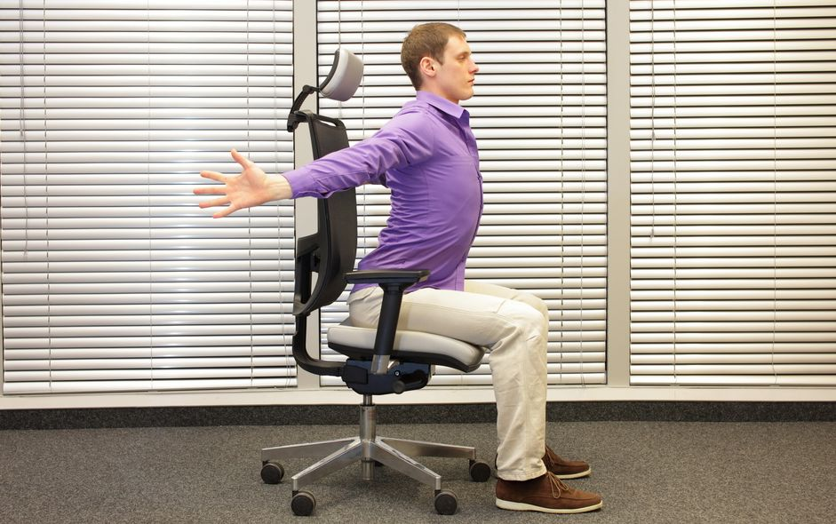 Desk based Stretches