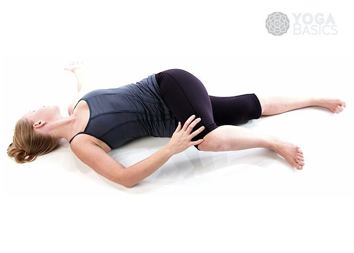 Supported Supine Spinal Twist