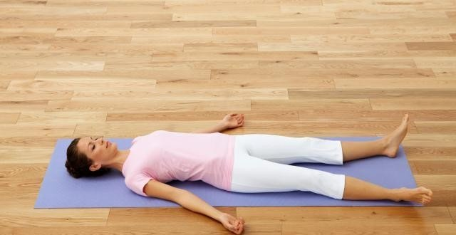 Supported Savasana