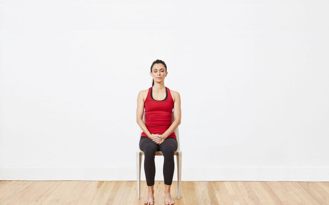 Start With These 5 Chair Yoga Poses To Stay Healthy