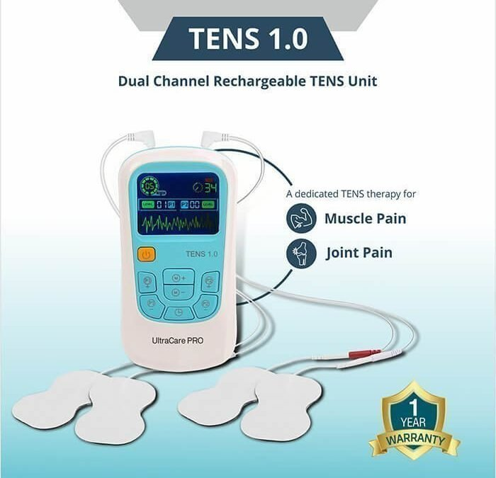 Tens Unit instant pain relief solution by UltracarePro